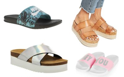 Slide into summer in these sandals