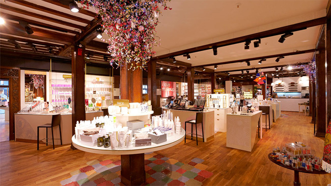 liberty london beauty hall