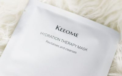 keeome hydrating therapy mask