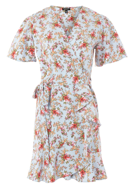 topshop tea dress