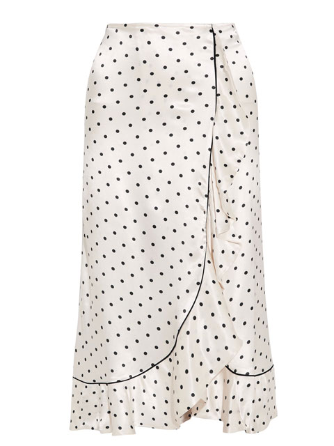 Leclair Midi Skirt | Ganni via Net-a-Porter | £225