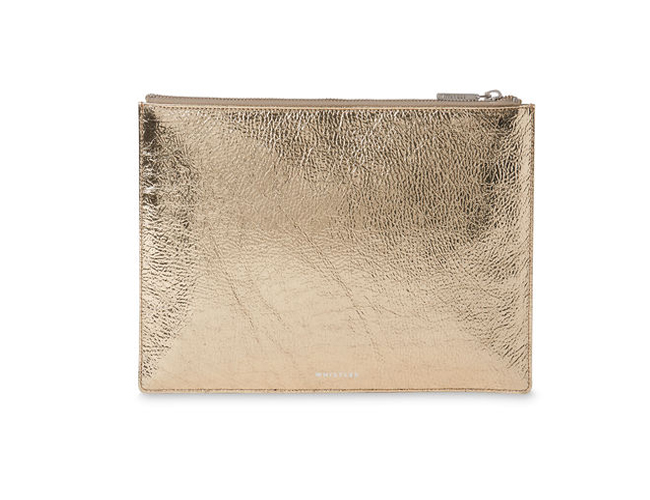 Metallic Medium Clutch | Whistles | £69