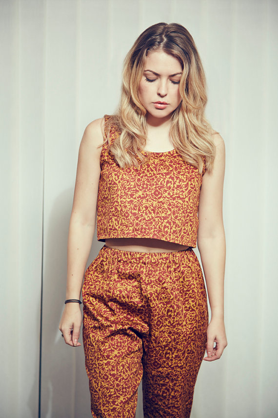 The Rosalind Top and Trousers