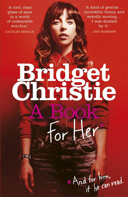 a book for her cover